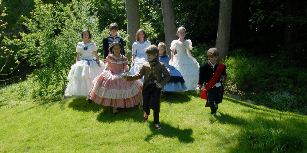 Prinzessinnen und Prinzen auf Schloss Arenenberg